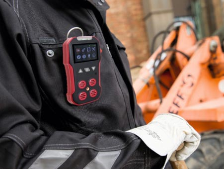 Daily use precautions for portable gas detectors