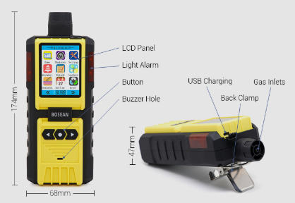 Bosean K-600 ozone detector
