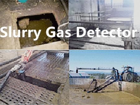 slurry gas detector