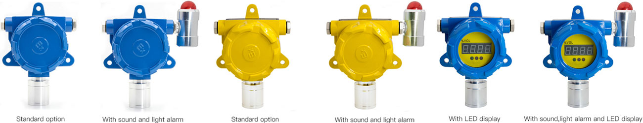 BH-60 fixed gas detector