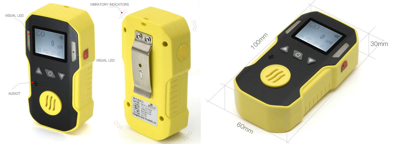 BH-90A portable single gas detector